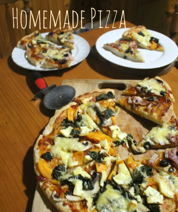 homemade pizza bases