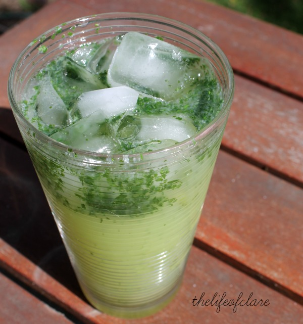 Mint lime-ade thelifeofclare