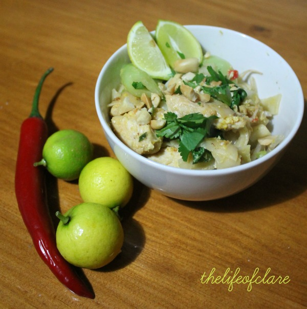 pad thai chill and lime
