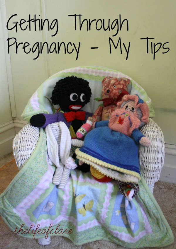 getting through pregnancy tips