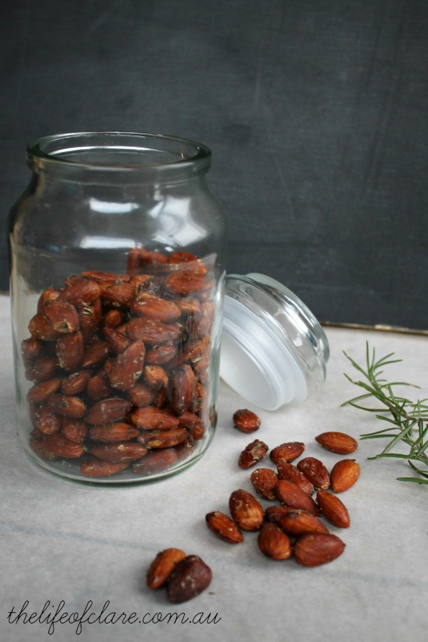 IMK rossemary and salt roasted almonds
