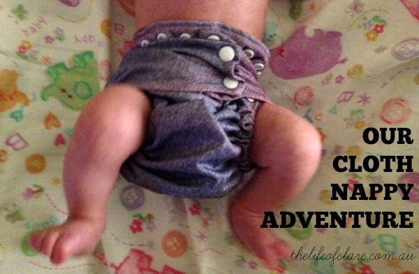 our cloth nappy adventure