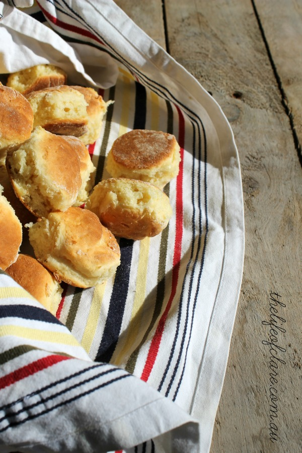 scones wrapped