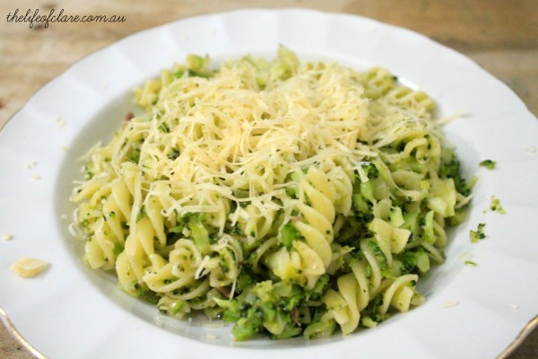 broccoli pasta with anchovies