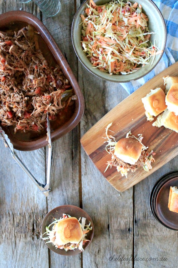 fruit chutney pulled beef