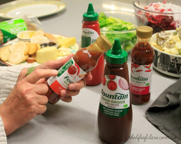 Fountain Sauces Ingredients