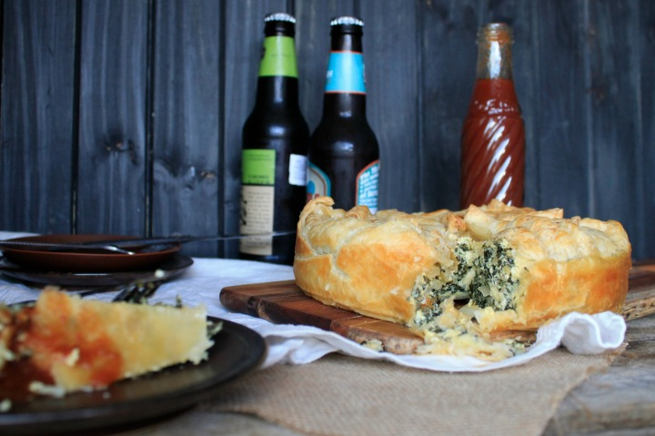 thelifeofclare sliverbeet and feta pie