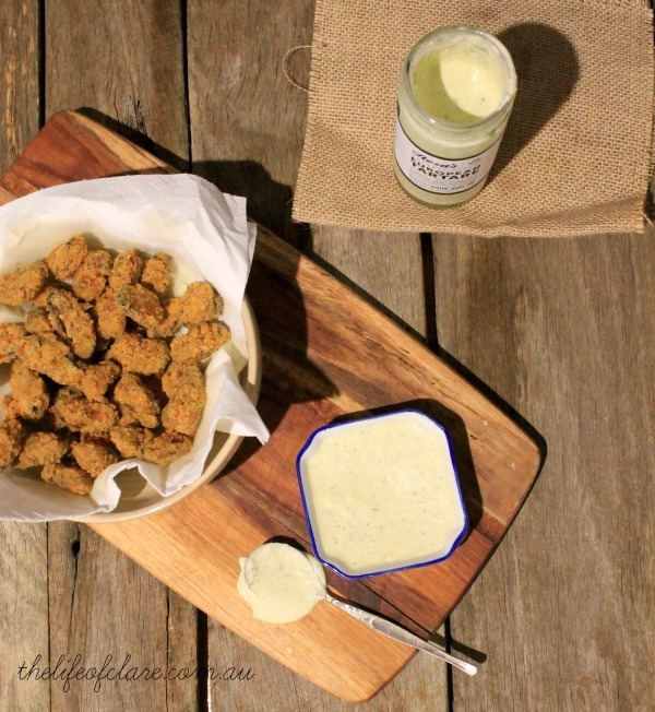 crumbed mussels roza's sauce