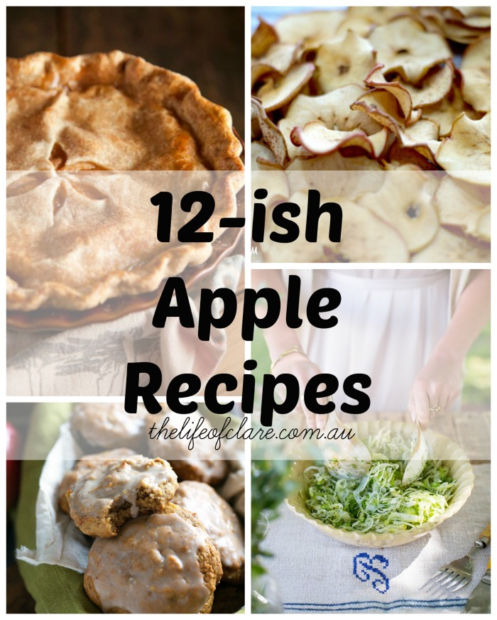 apple recipes thelifeofclare