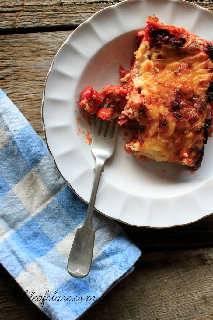 slice of lasagne thelifeofclare