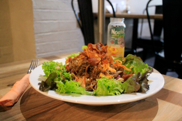 shredded pork salad