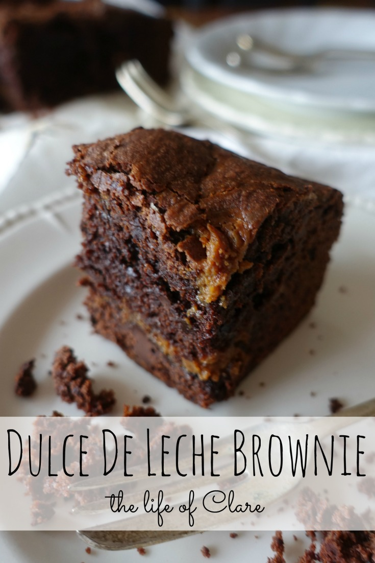 Dulce De Leche Brownie pinterest