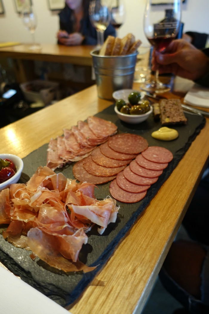 charcuterie Union Street Wine Bar